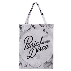 Panic At The Disco Flowers Classic Tote Bag
