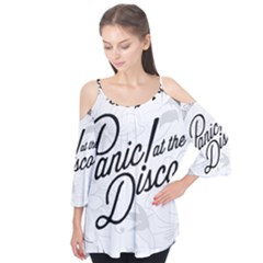 Panic At The Disco Flowers Flutter Tees