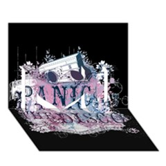 Panic At The Disco Art I Love You 3d Greeting Card (7x5)