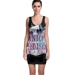 Panic At The Disco Art Sleeveless Bodycon Dress