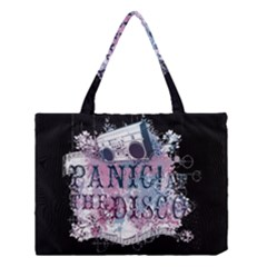 Panic At The Disco Art Medium Tote Bag