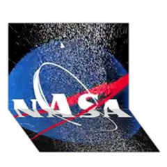 Nasa Logo Circle 3D Greeting Card (7x5)