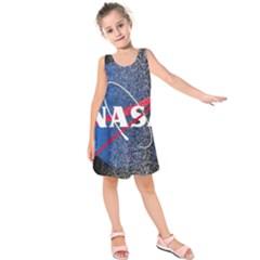 Nasa Logo Kids  Sleeveless Dress