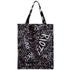 Panic At The Disco Lyric Quotes Retina Ready Zipper Classic Tote Bag