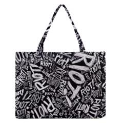 Panic At The Disco Lyric Quotes Retina Ready Medium Zipper Tote Bag