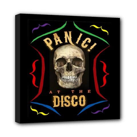 Panic At The Disco Poster Mini Canvas 8  X 8
