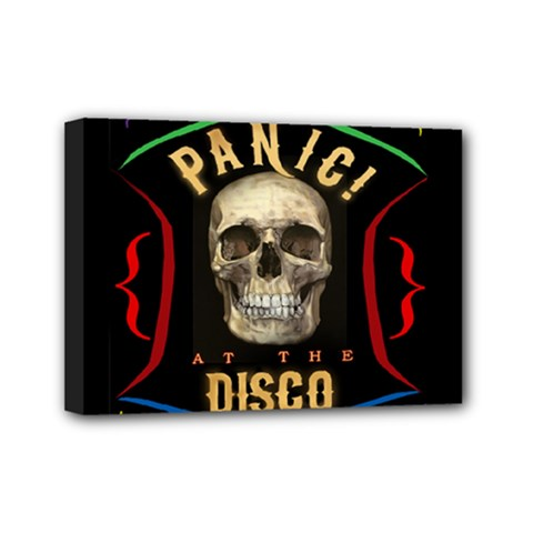 Panic At The Disco Poster Mini Canvas 7  X 5