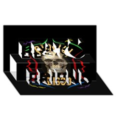 Panic At The Disco Poster Best Friends 3D Greeting Card (8x4)