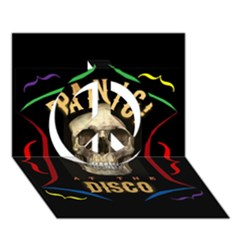 Panic At The Disco Poster Peace Sign 3D Greeting Card (7x5)