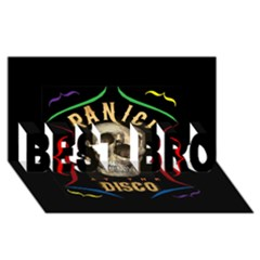 Panic At The Disco Poster Best Bro 3d Greeting Card (8x4)