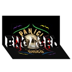 Panic At The Disco Poster Engaged 3d Greeting Card (8x4)