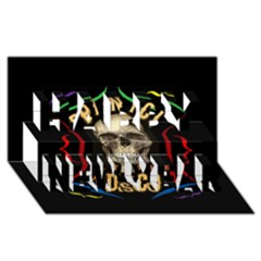 Panic At The Disco Poster Happy New Year 3d Greeting Card (8x4)