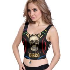 Panic At The Disco Poster Crop Top