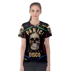 Panic At The Disco Poster Women s Sport Mesh Tee