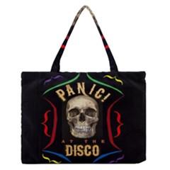 Panic At The Disco Poster Medium Zipper Tote Bag
