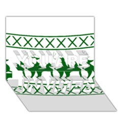 Humping Reindeer Ugly Christmas YOU ARE INVITED 3D Greeting Card (7x5)