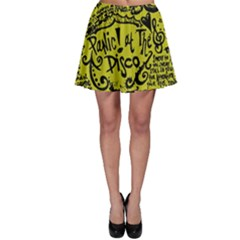 Panic! At The Disco Lyric Quotes Skater Skirt