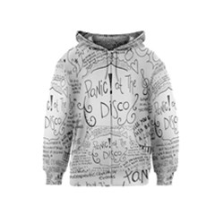 Panic! At The Disco Lyrics Kids  Zipper Hoodie
