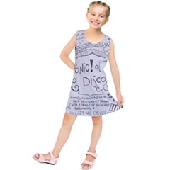 Panic! At The Disco Lyrics Kids  Tunic Dress