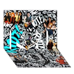 Panic! At The Disco College I Love You 3d Greeting Card (7x5)