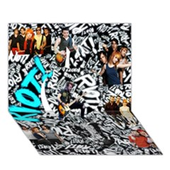 Panic! At The Disco College Apple 3d Greeting Card (7x5)