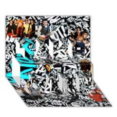 Panic! At The Disco College Take Care 3d Greeting Card (7x5)