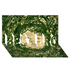 Panic At The Disco Best Bro 3d Greeting Card (8x4)