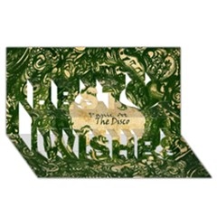 Panic At The Disco Best Wish 3D Greeting Card (8x4)