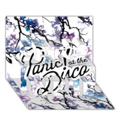 Panic! At The Disco Get Well 3D Greeting Card (7x5)