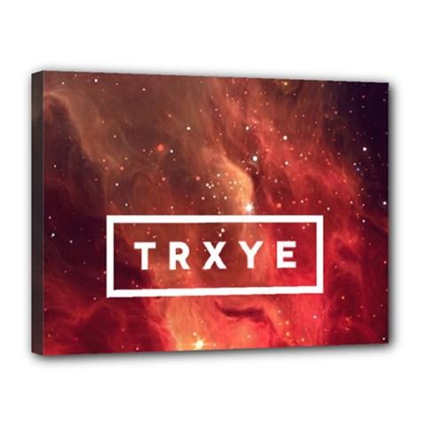 Trxye Galaxy Nebula Canvas 16  X 12