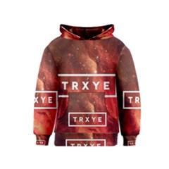 Trxye Galaxy Nebula Kids  Pullover Hoodie