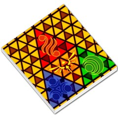 The Triforce Stained Glass Small Memo Pads