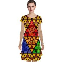 The Triforce Stained Glass Cap Sleeve Nightdress