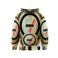 Twenty One Pilots Shield Kids  Zipper Hoodie