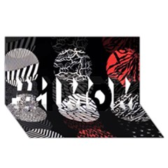 Twenty One Pilots Stressed Out #1 Mom 3d Greeting Cards (8x4)