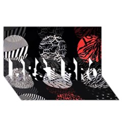 Twenty One Pilots Stressed Out BEST BRO 3D Greeting Card (8x4)