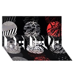 Twenty One Pilots Stressed Out BELIEVE 3D Greeting Card (8x4)