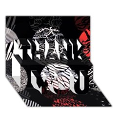 Twenty One Pilots Stressed Out Thank You 3d Greeting Card (7x5)