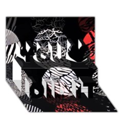 Twenty One Pilots Stressed Out You Did It 3d Greeting Card (7x5)