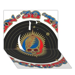 The Grateful Dead Apple 3d Greeting Card (7x5)