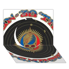 The Grateful Dead Circle 3d Greeting Card (7x5)