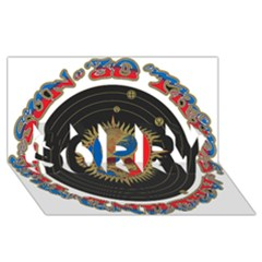The Grateful Dead SORRY 3D Greeting Card (8x4)