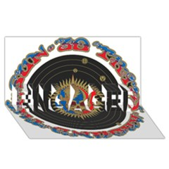 The Grateful Dead Engaged 3d Greeting Card (8x4)