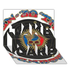 The Grateful Dead TAKE CARE 3D Greeting Card (7x5)