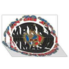 The Grateful Dead Merry Xmas 3D Greeting Card (8x4)