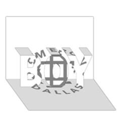 Cameron Dallas Boy 3d Greeting Card (7x5)