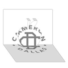 Cameron Dallas Apple 3d Greeting Card (7x5)