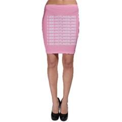 1 800 Hotline Bling Bodycon Skirt