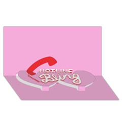 Hotline Bling Twin Heart Bottom 3D Greeting Card (8x4)