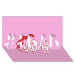 Hotline Bling #1 Dad 3d Greeting Card (8x4)